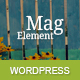 MagElement - Fresh & Modern WordPress Theme - ThemeForest Item for Sale