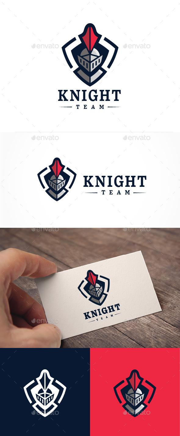 Abstract Knight Team Logo - Abstract Logo Templates