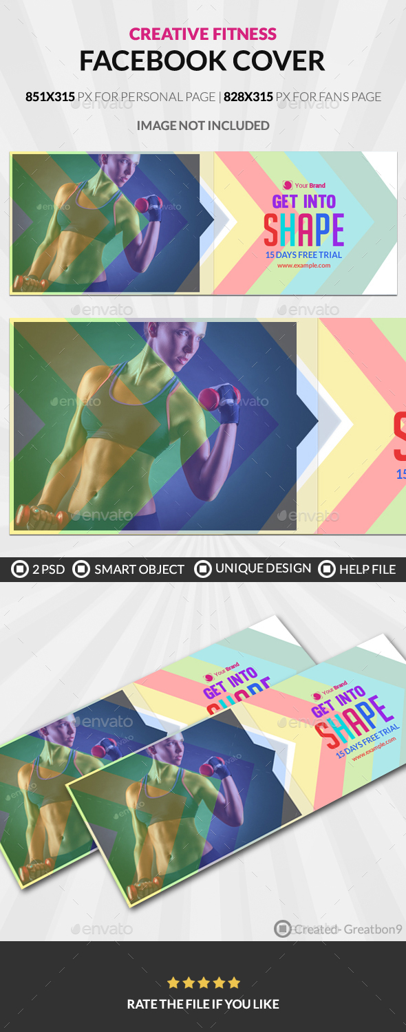 Creative Fitness Facebook Cover - Facebook Timeline Covers Social Media