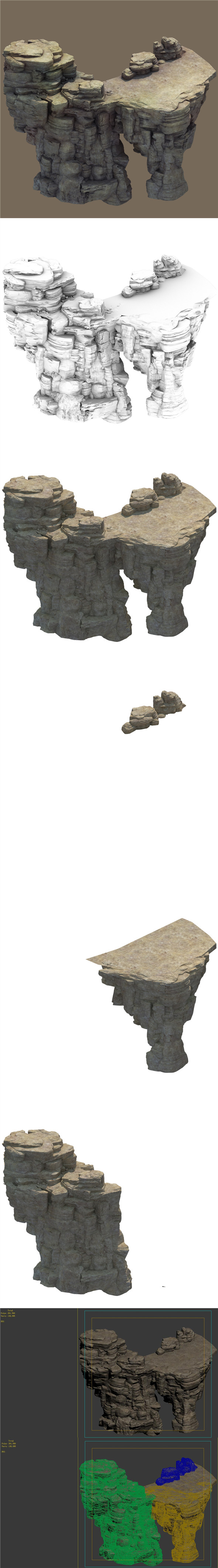 Mountain - Terrain 04 - 3DOcean Item for Sale