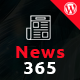 News365 - WordPress Newspaper Theme for Magazine / Blog Nulled