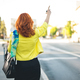 Businesswoman Hailing Taxi - PhotoDune Item for Sale
