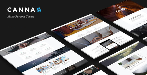 Image of Canna - Creative Elegant Drupal 8 Theme