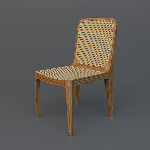 Bossa Chair by Jader Almeida | Sollos - 3DOcean Item for Sale