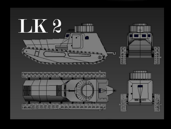 Tanks LK 2 - 3DOcean Item for Sale