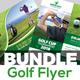 Golf Flyers Bundle Template