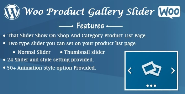 Woo Product Gallery Slider - CodeCanyon Item for Sale