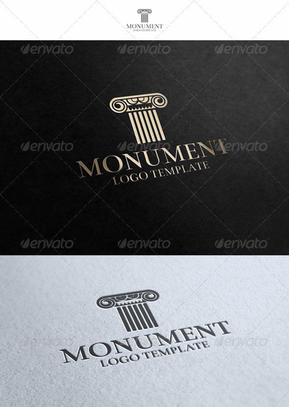 Monument Logo_v2 - Buildings Logo Templates