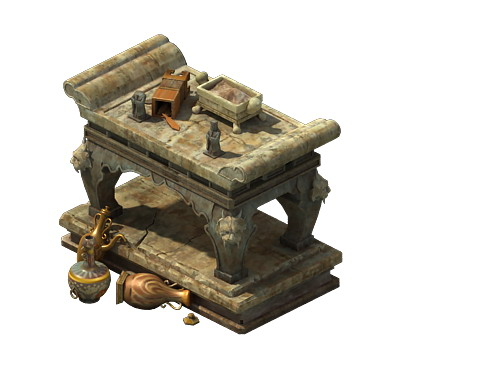 Game model - stone for the table