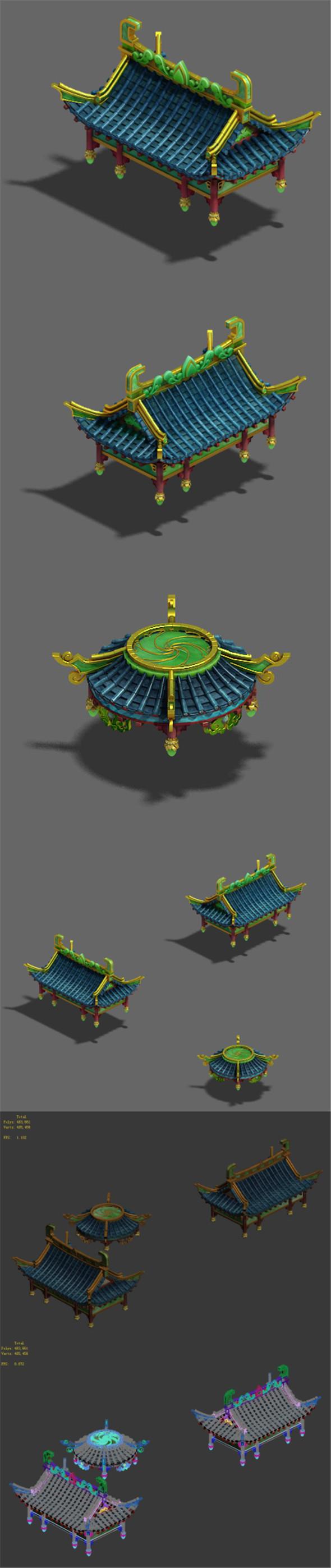 Market - City Roof 02 - 3DOcean Item for Sale