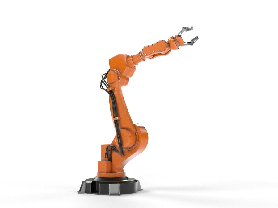 Industrial Robot Arm By Teddpermana 3docean