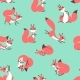 Little Cute Squirrels. Seamless Pattern for Gift - GraphicRiver Item for Sale