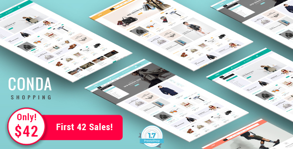 Conda – Shopping Responsive Prestashop 1.7 Theme