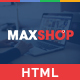 Maxshop - Responsive & Multi-Purpose eCommerce HTML Template - ThemeForest Item for Sale