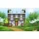 A Property at the Hillside - GraphicRiver Item for Sale