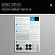 Executive Summary Template A4 - GraphicRiver Item for Sale