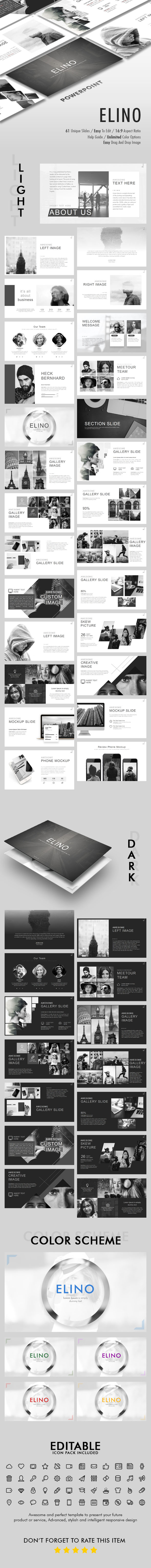 Elino Powerpoint Template - Business PowerPoint Templates