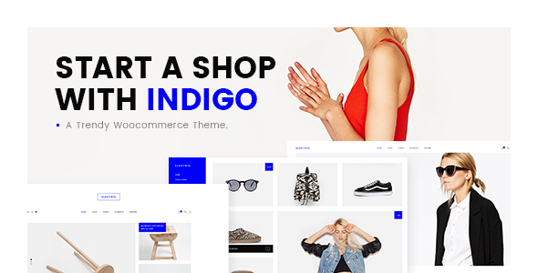 Indigo - A Trendy WooCommerce Theme
