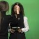Black Female During Giving News