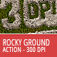 Rocky Ground Action - 300 DPI - GraphicRiver Item for Sale