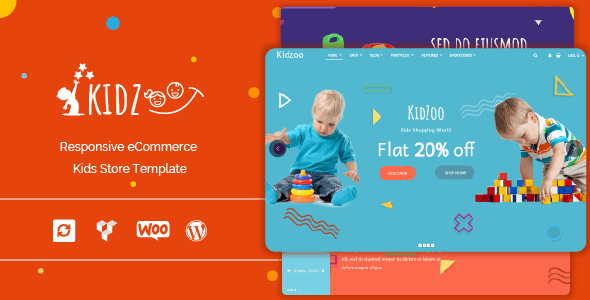 Kidzoo – Kids and Baby Store WordPress eCommerce Theme