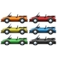 Convertible Cars in Six Colors - GraphicRiver Item for Sale