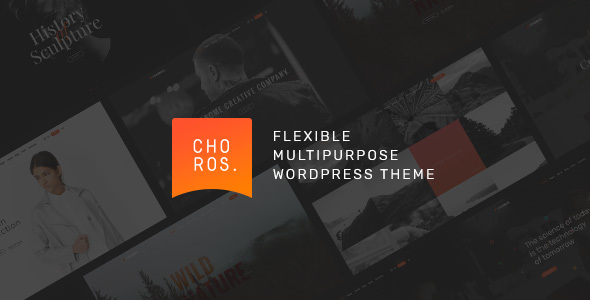 Choros — Responsive Multipurpose WordPress Theme - Creative WordPress