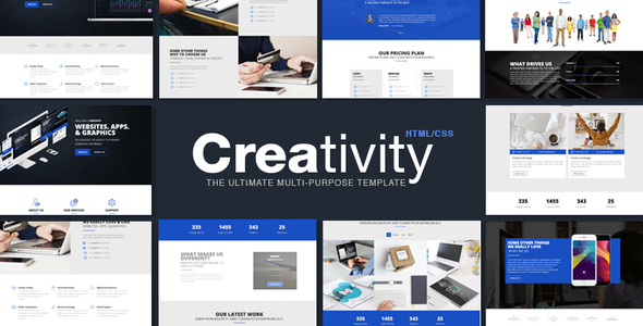 Creativity –  Corporate HTML Template