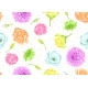 Seamless Pattern with Decorative Delicate Flowers - GraphicRiver Item for Sale