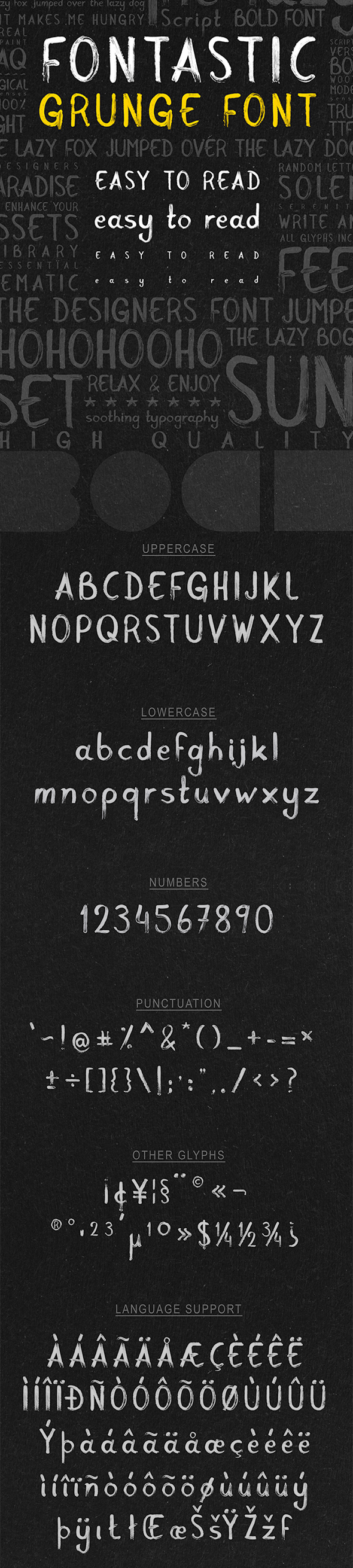 Font Astic - Real Paint Typeface - Sans-Serif Fonts