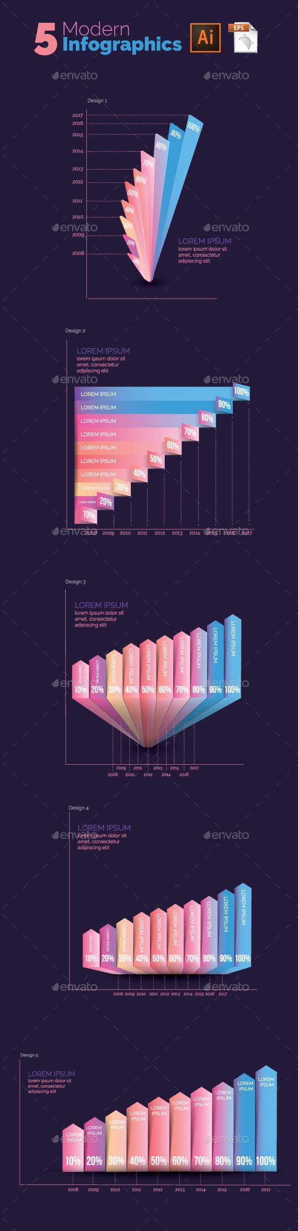 Modern Infographics - Infographics