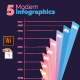 Modern Infographics - GraphicRiver Item for Sale