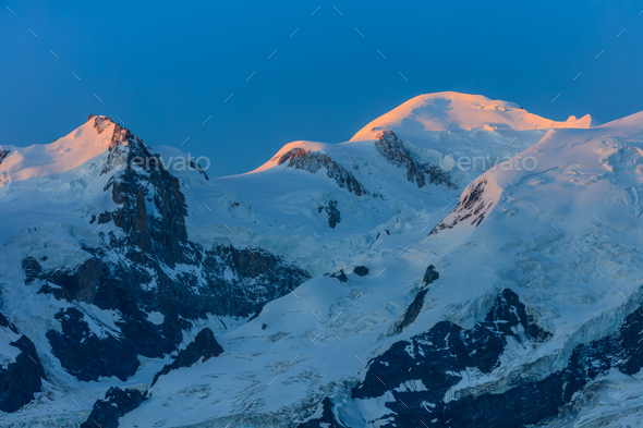 Mont Blanc, France - Stock Photo - Images