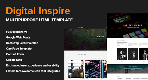 Digital Inspire - HTML Template