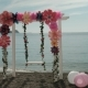 On the Seashore Swing Empty Swings Decorated with Flowers and Balls. - VideoHive Item for Sale