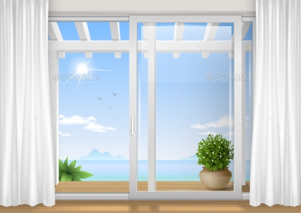 Sliding Window of the Hotel - Miscellaneous Vectors