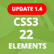 ePack -  22 CSS3 Ultimate Element Packages - CodeCanyon Item for Sale