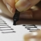 Woman Writes Pen with Calligraphic Letters - VideoHive Item for Sale