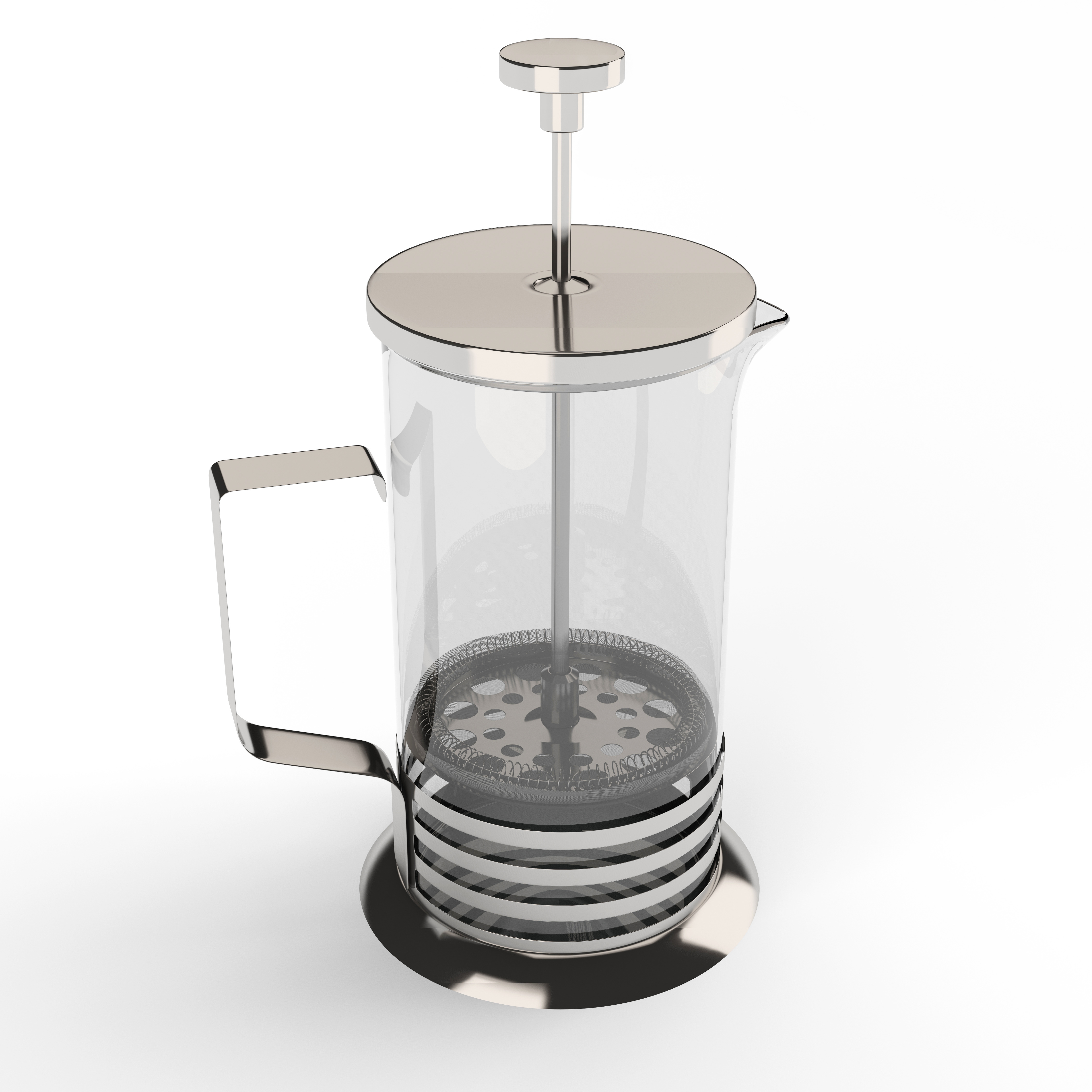 Cafetiere - 3DOcean Item for Sale