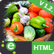 The Farm House - One Page Organic Food, Fruit and Vegetables Products HTML5 Template Nulled