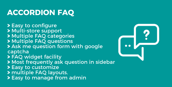 Accordion FAQ Magento Extension - CodeCanyon Item for Sale
