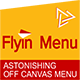 WordPress Off Canvas Menu - FlyIn Menu - CodeCanyon Item for Sale