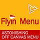 WordPress Off Canvas Menu - FlyIn Menu - CodeCanyon Item for Sale