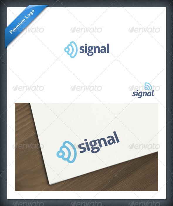 Signal Logo Template - Symbols Logo Templates