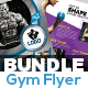 Fitness & Gym Flyers Bundle
