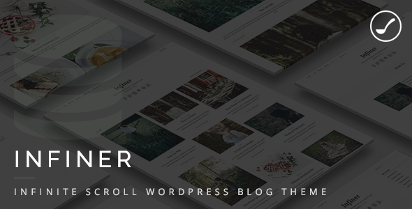 Infiner - Infinite Scroll WordPress Blog Theme