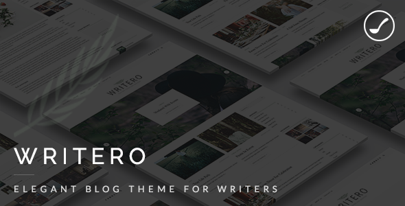 Writero - Elegant WordPress Blog Theme - Personal Blog / Magazine
