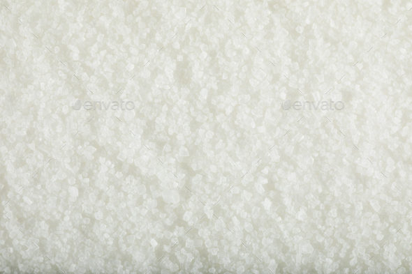 Raw White Granulated Sugar - Stock Photo - Images