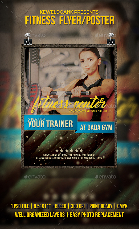 Fitness Flyer / Poster - Sports Events