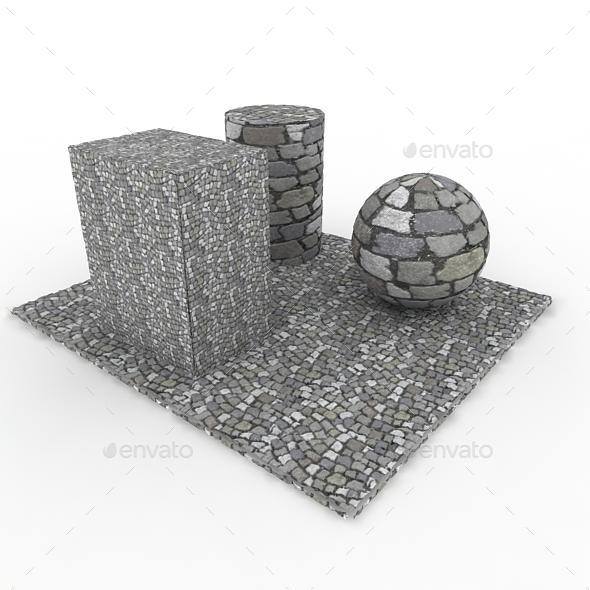 Cobble stones Pavement